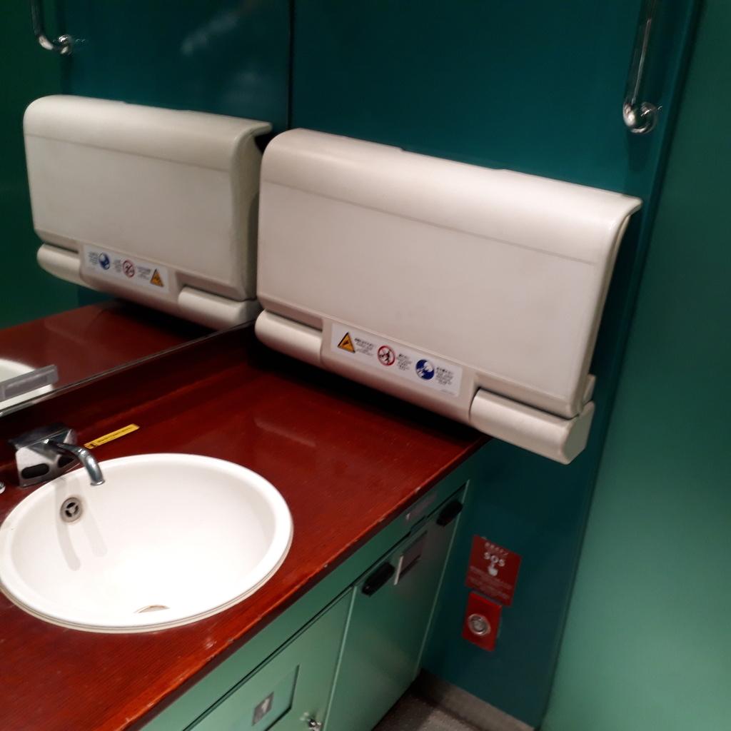特急 にちりん 787系4両編成 多目的お手洗い
