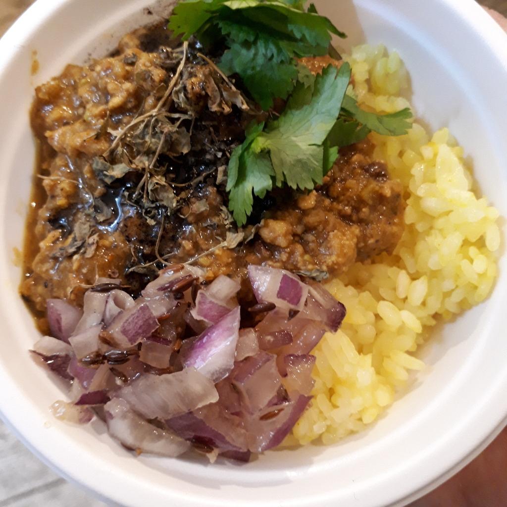 修行咖喱 トリプルキーマの混ぜカレー