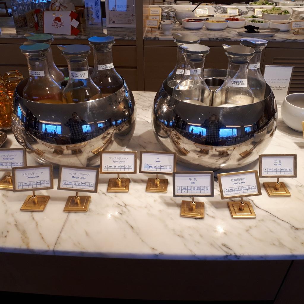 シェラトン・グランデ・オーシャンリゾート クラブラウンジ 朝食サービス