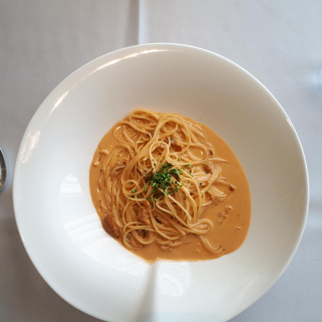 Ristorante ARCO(リストランテ・アルコ) ウニのクリームソーススパゲティ