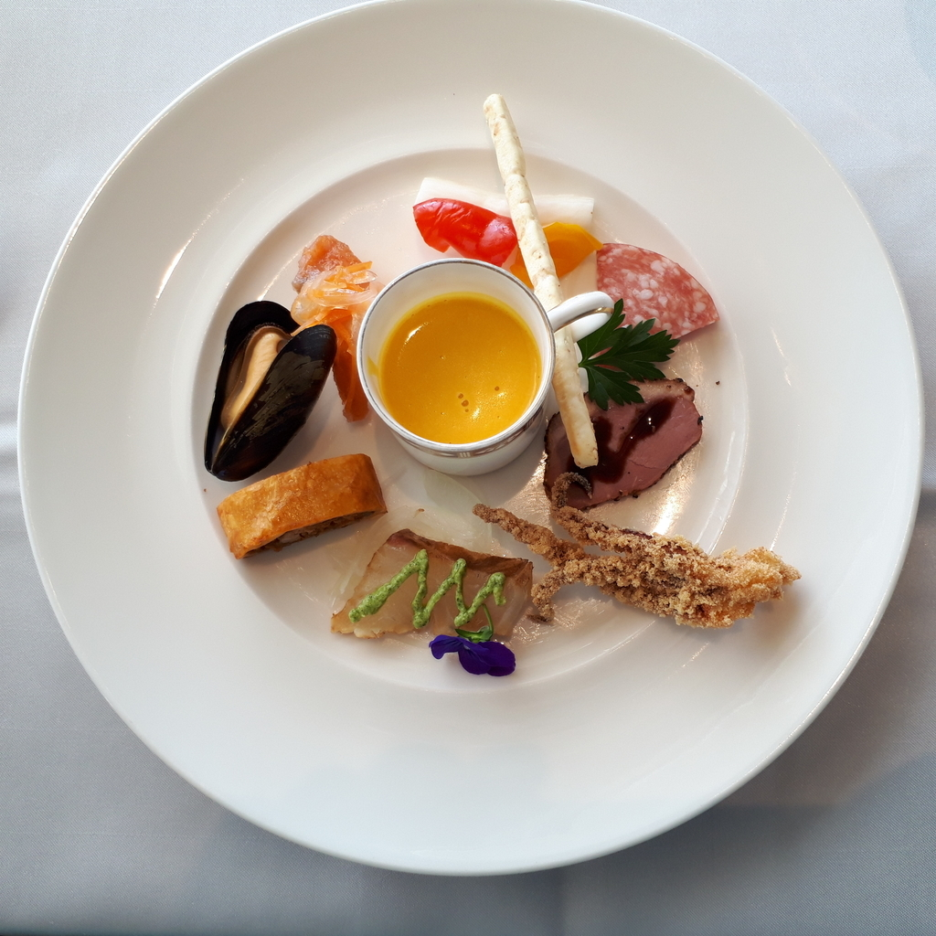 Ristorante ARCO(リストランテ・アルコ) ランチメニュー 前菜 オードブル盛り合わせ