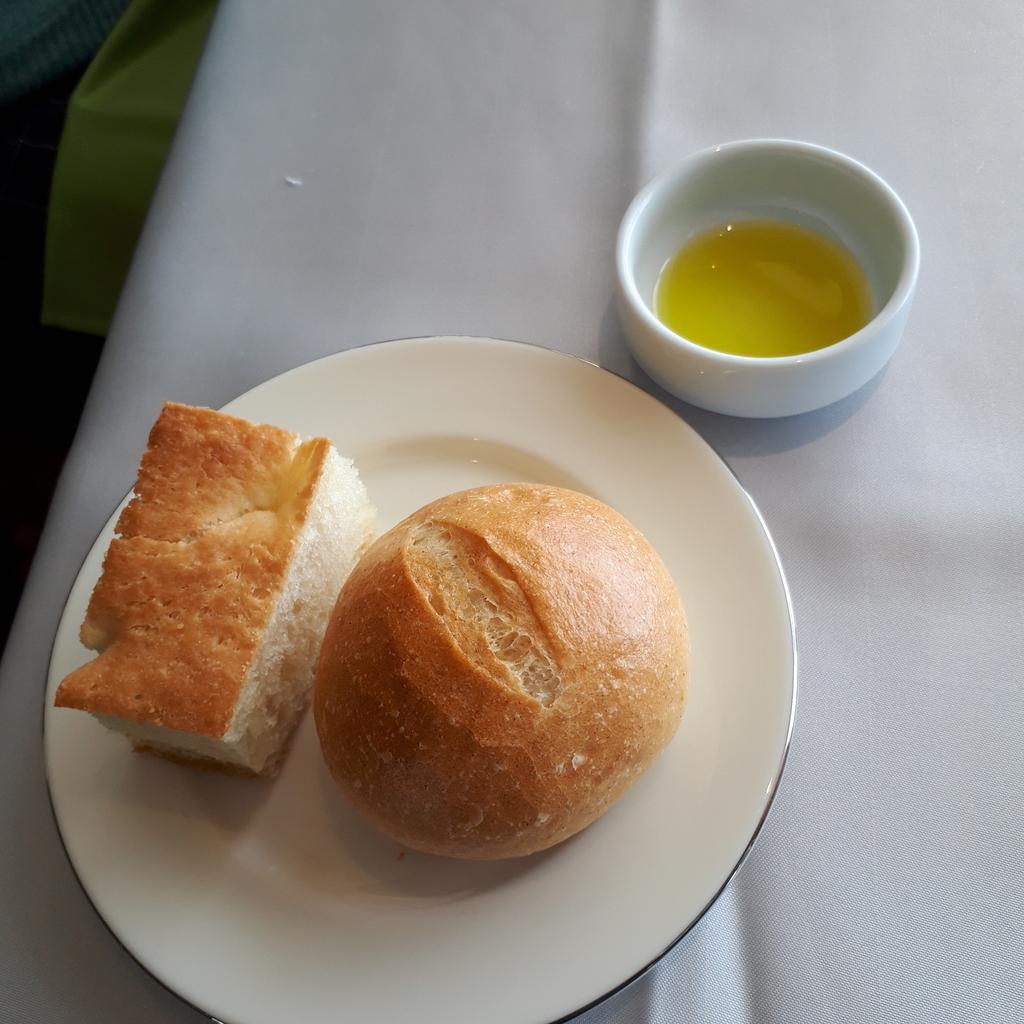 Ristorante ARCO(リストランテ・アルコ) ランチメニュー 前菜 パン