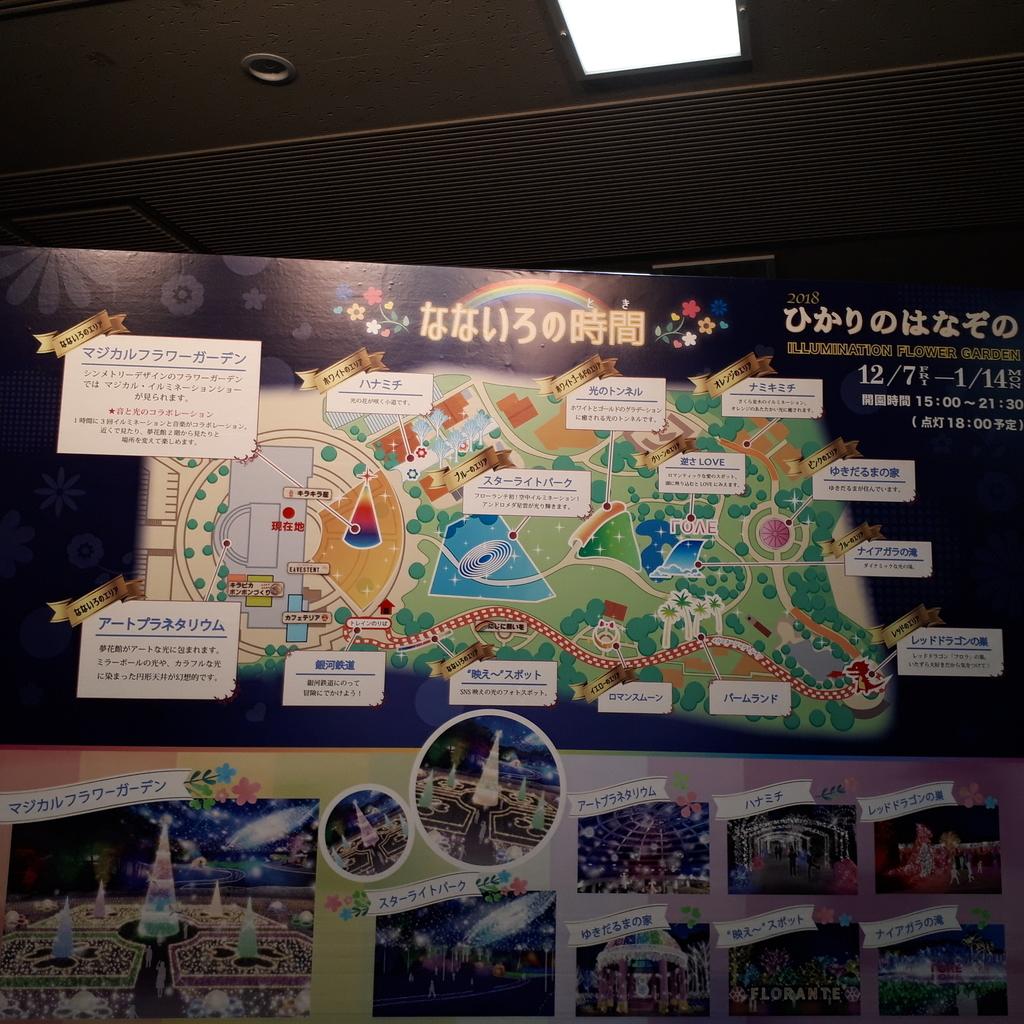 フローランテ宮崎 イルミネーション・フラワー・ガーデン
