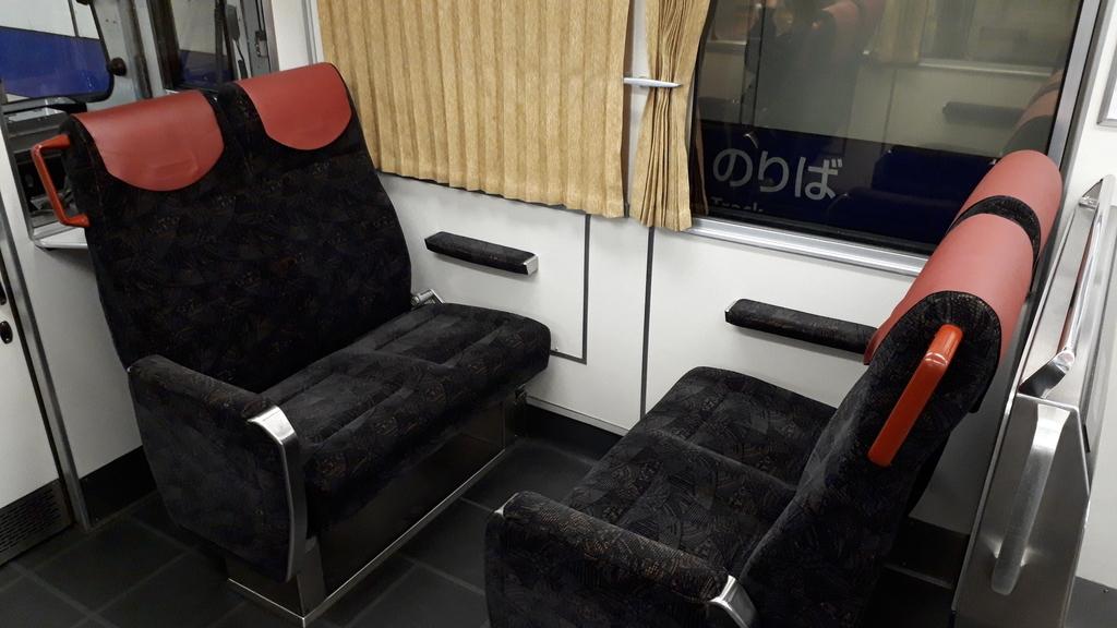 京阪8000系 一般車両 車内