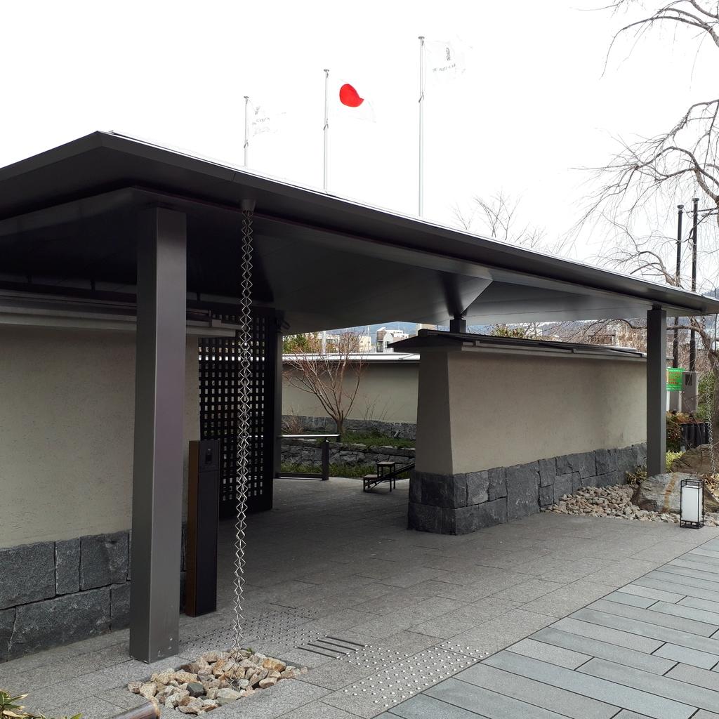 リッツカールトン京都 入口