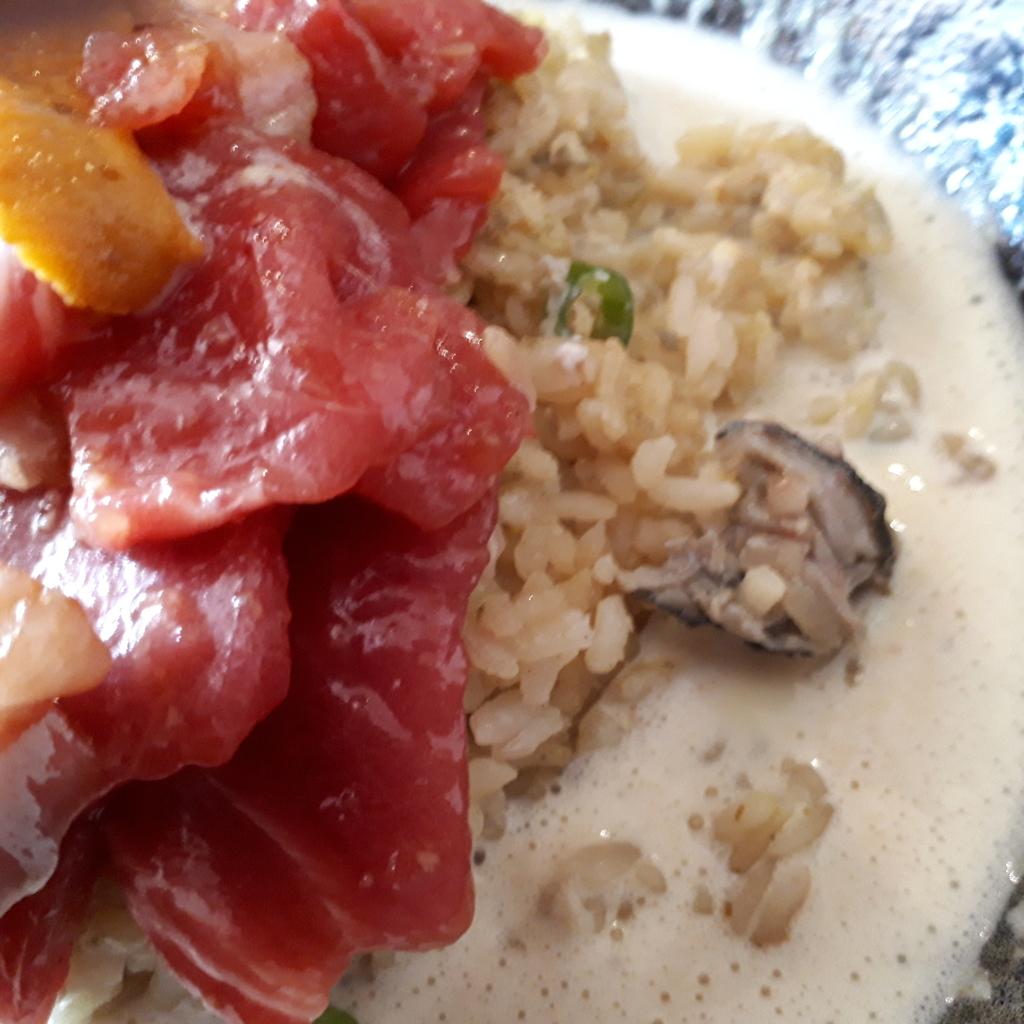 wacca  2019年2月23日 海鮮スープカレー 牡蠣とシメジの炊き込みご飯