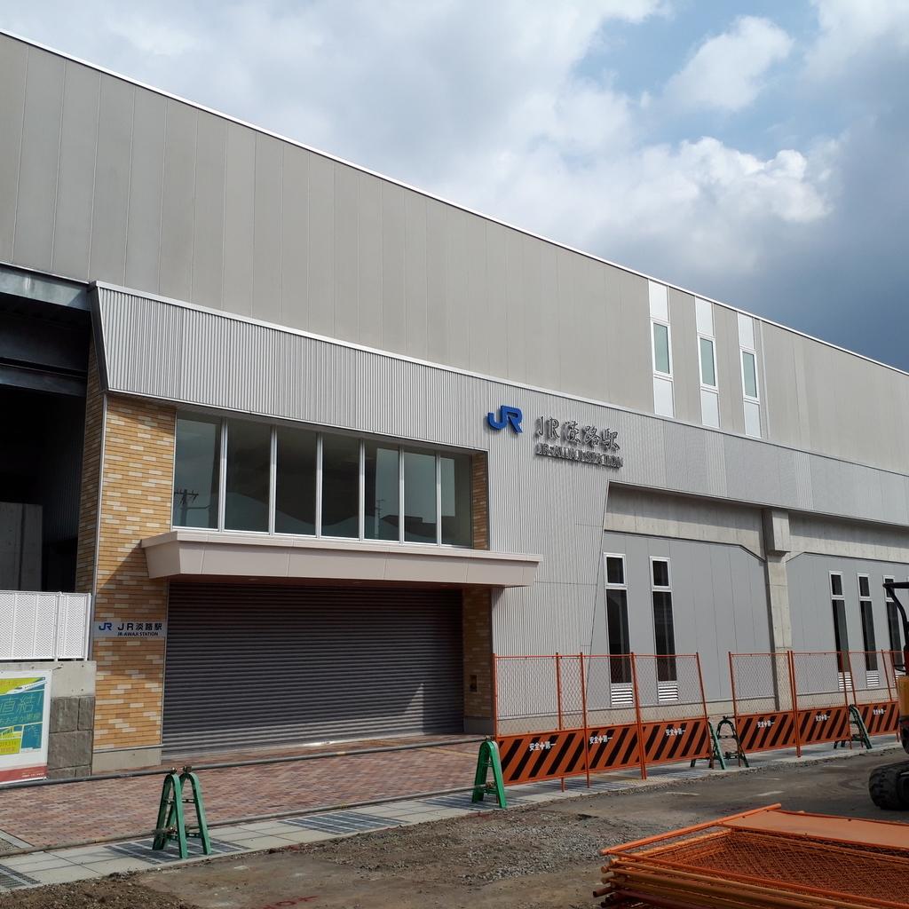 おおさか東線 JR淡路駅
