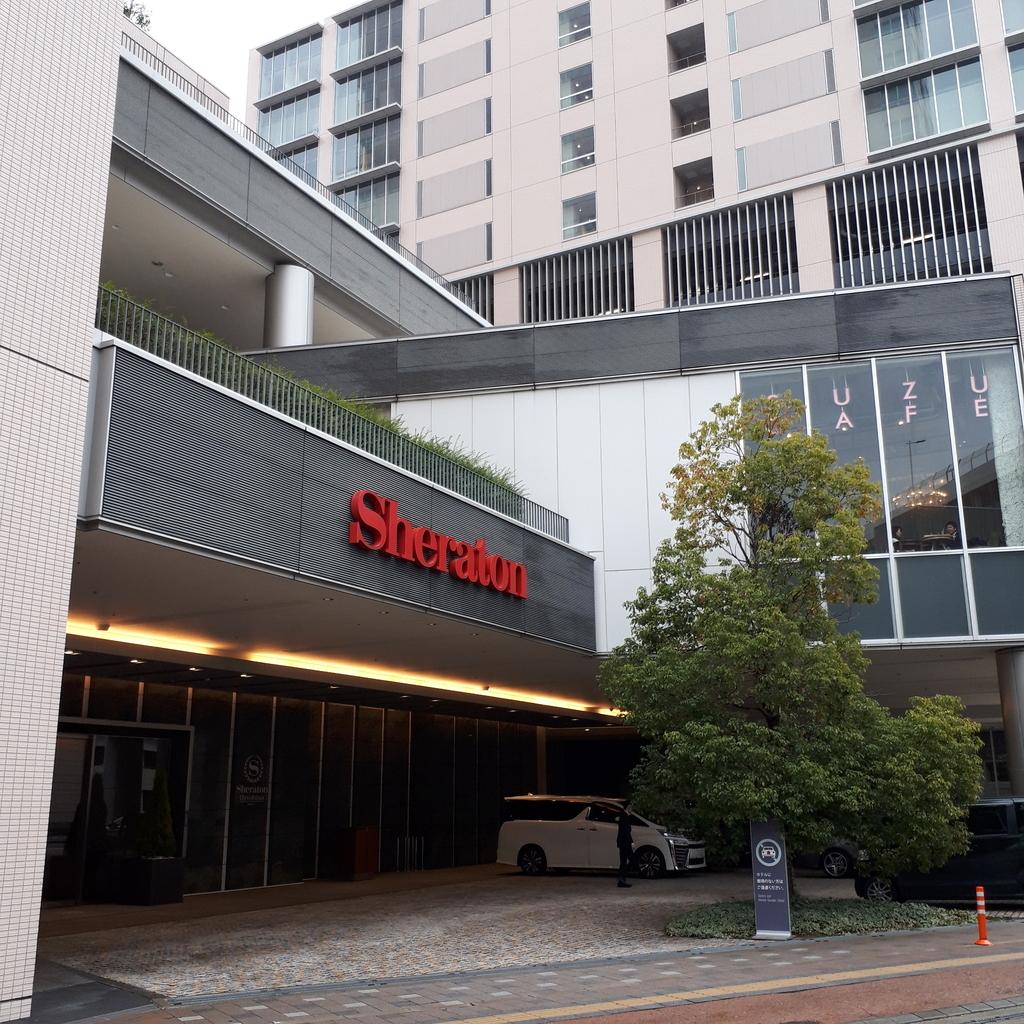シェラトングランドホテル広島 車寄せ