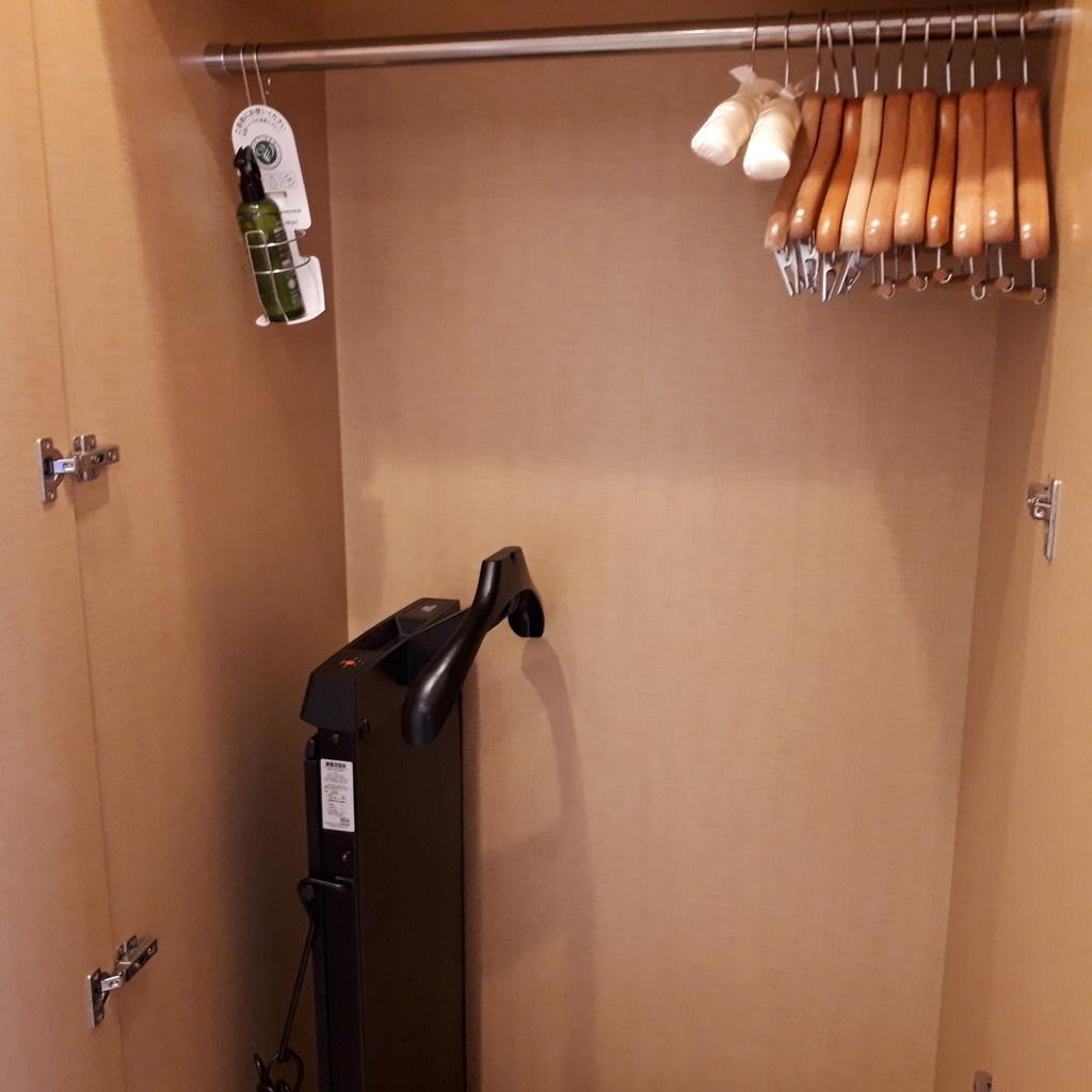 シェラトングランドホテル広島 クラブキングルーム クローゼット
