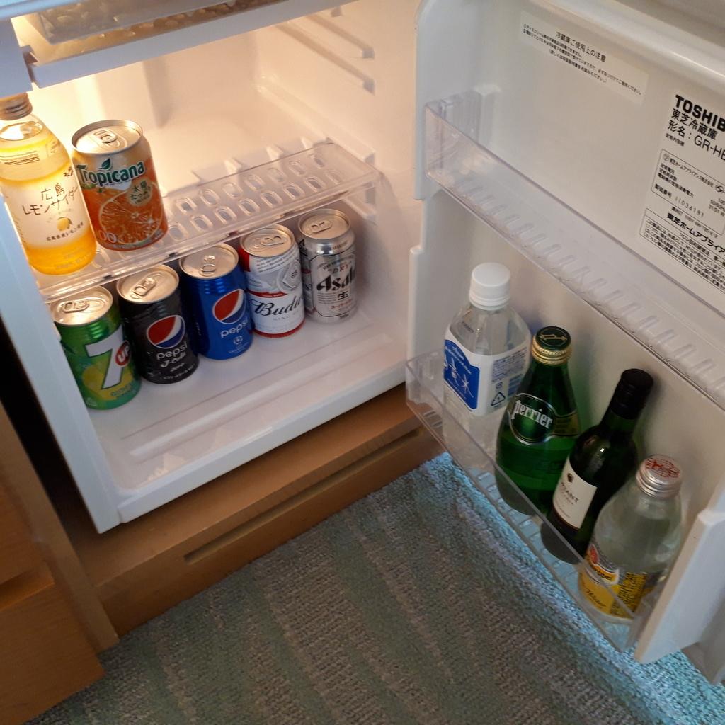 シェラトングランドホテル広島 クラブラウンジ 冷蔵庫 ミニバー