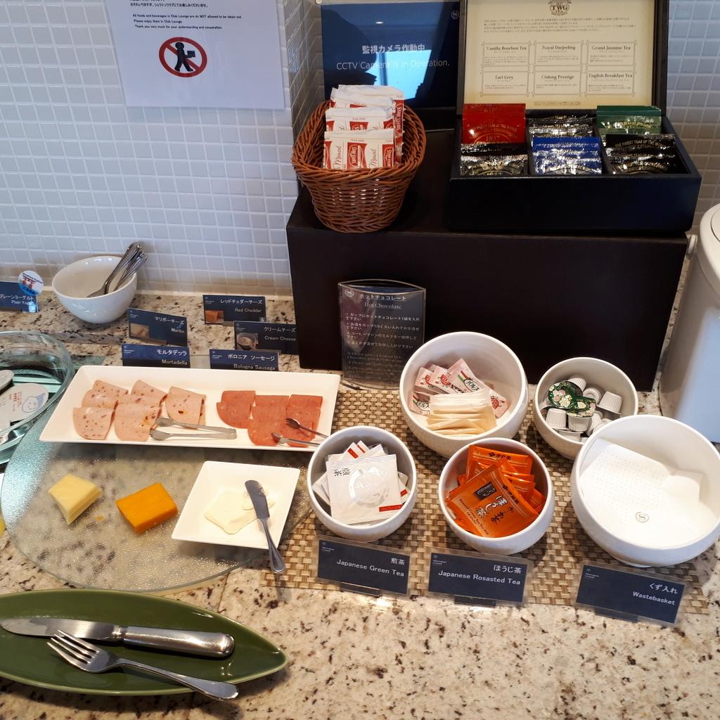 シェラトングランドホテル広島 クラブラウンジ 朝食