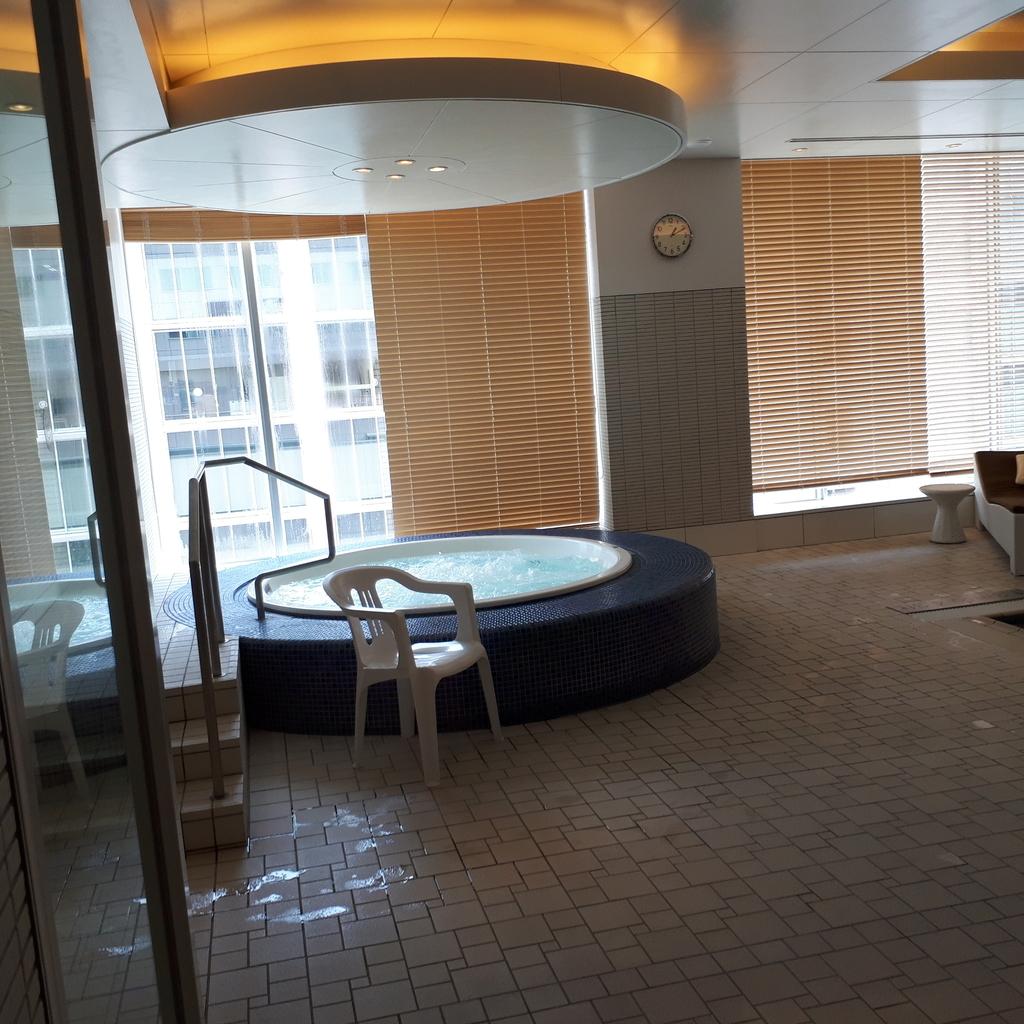 シェラトングランドホテル広島 8階 ジャグジー