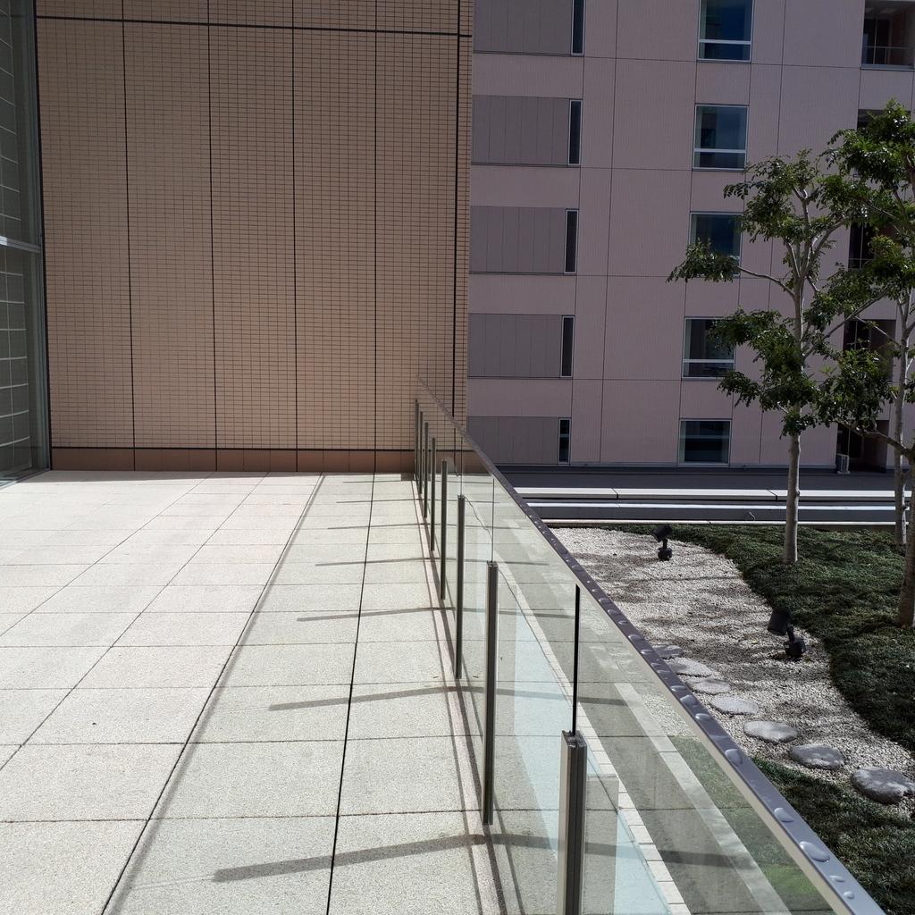 シェラトングランドホテル広島 テラス