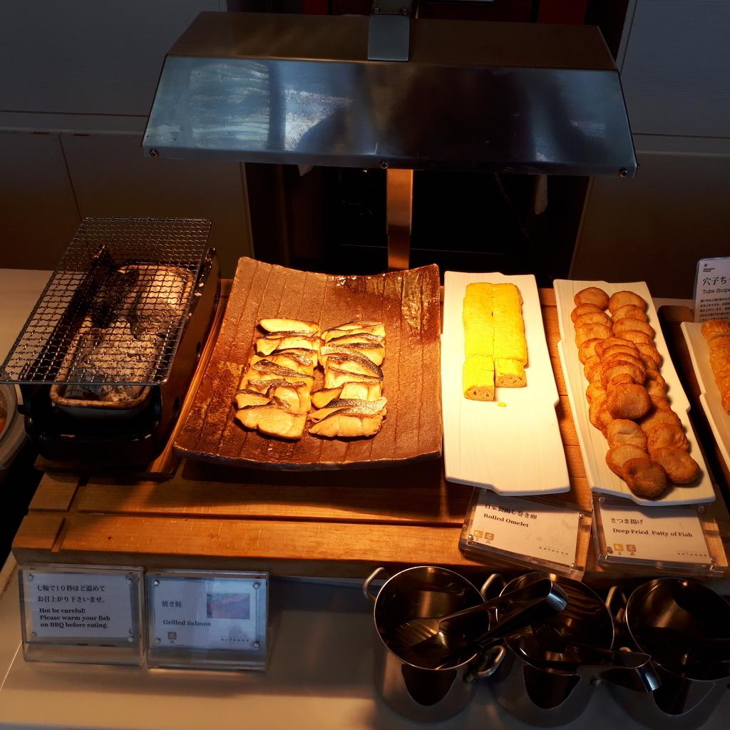 シェラトングランドホテル広島 ブッフェレストラン ブリッジ 朝食 和惣菜