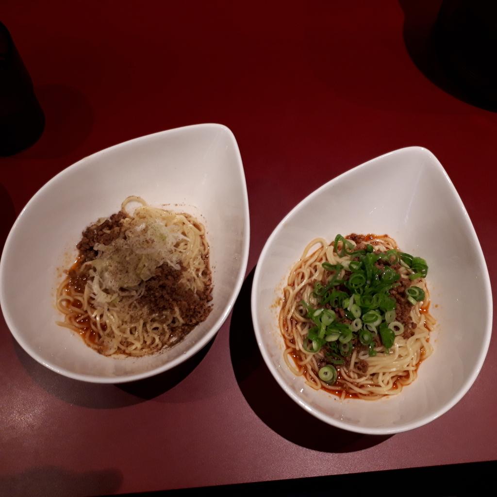 くにまつ+武蔵坊 汁なし坦坦麺 ハーフ&ハーフごまセット