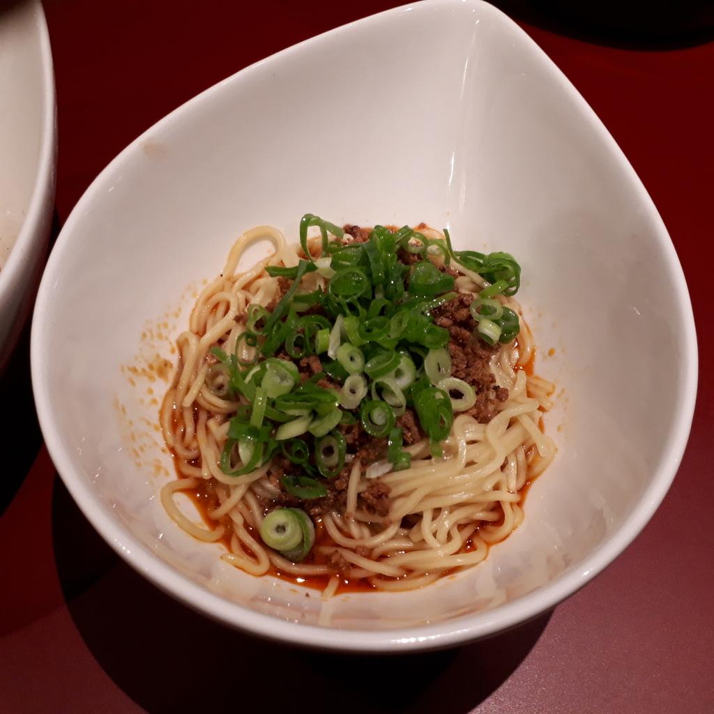 くにまつ+武蔵坊 汁なし坦坦麺 武蔵坊ハーフ