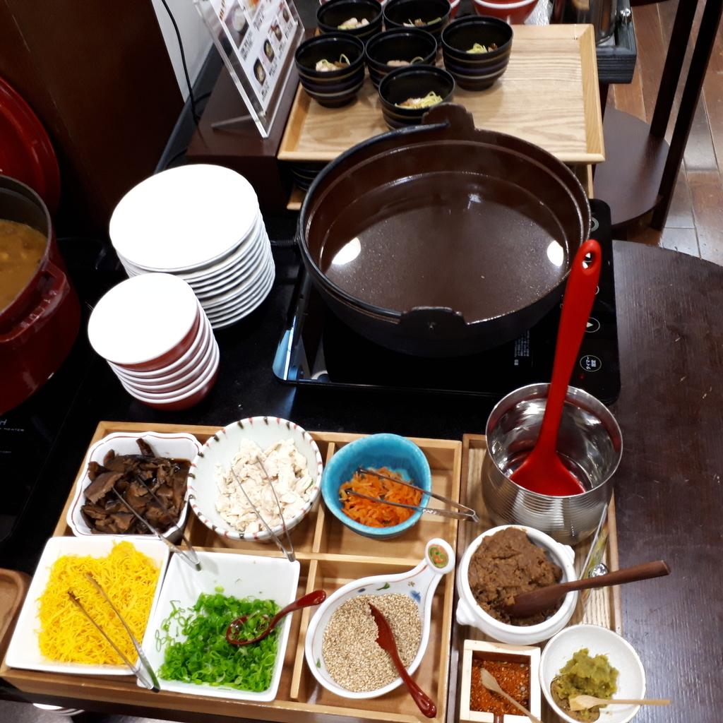 ホテル法華クラブ鹿児島 朝食 鶏飯