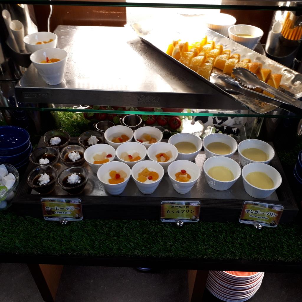 ホテル法華クラブ鹿児島 朝食 デザート