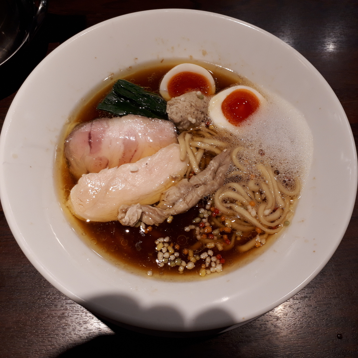 NAKAGAWAわず 路麺 味玉