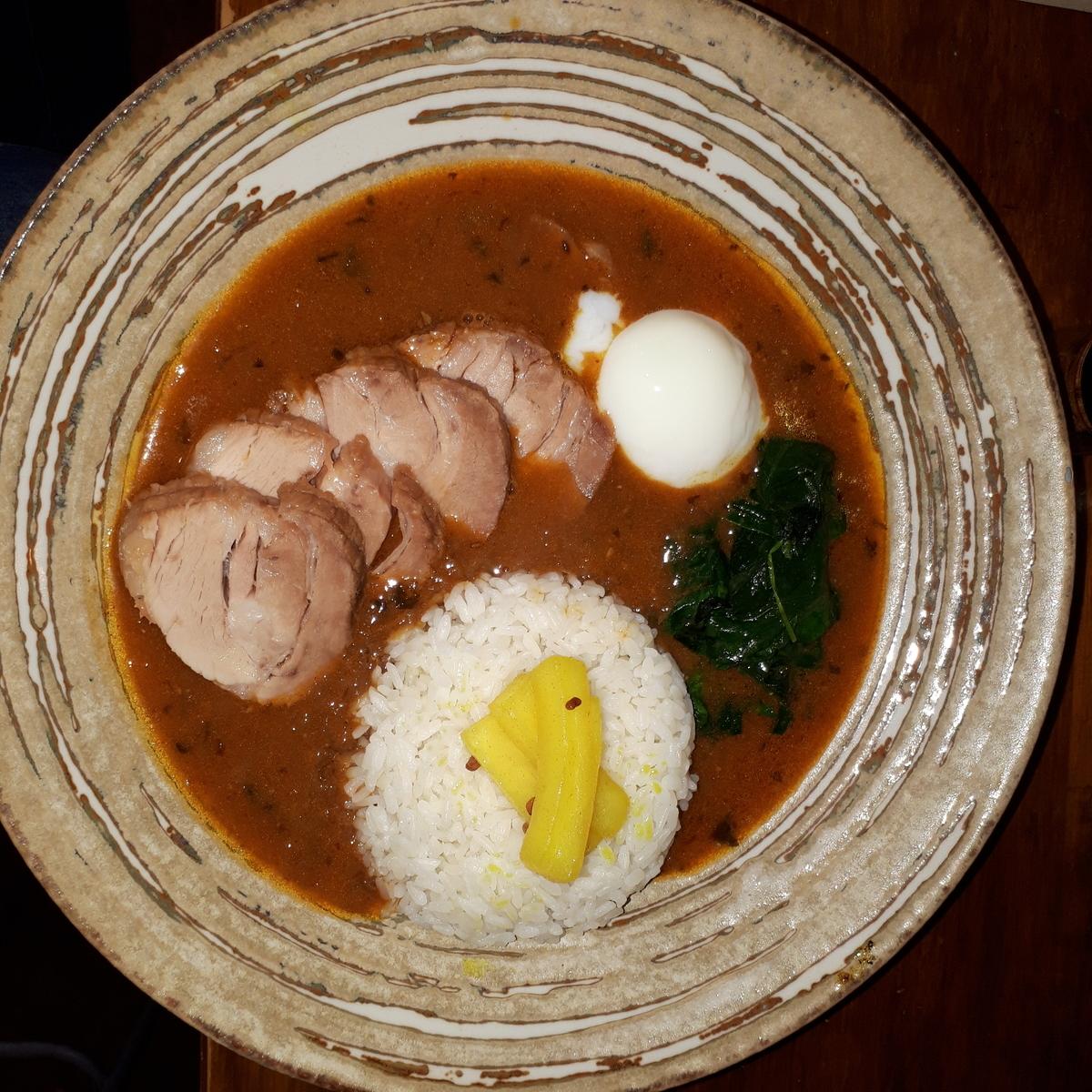 wacca  2019年3月22日 濃厚豚骨出汁の大阪スープカレー