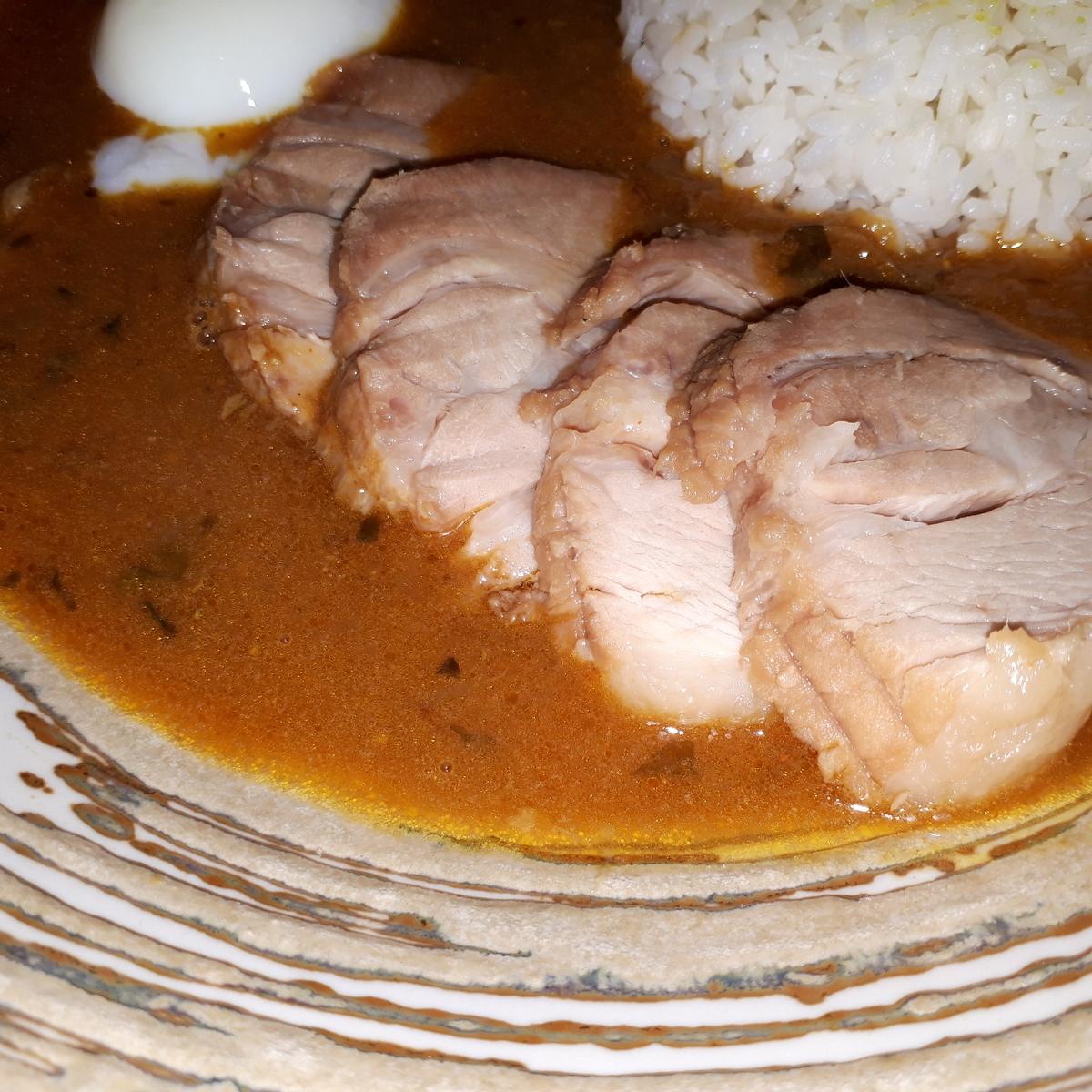 wacca 2019年3月22日 濃厚豚骨出汁の大阪スープカレー チャーシュー