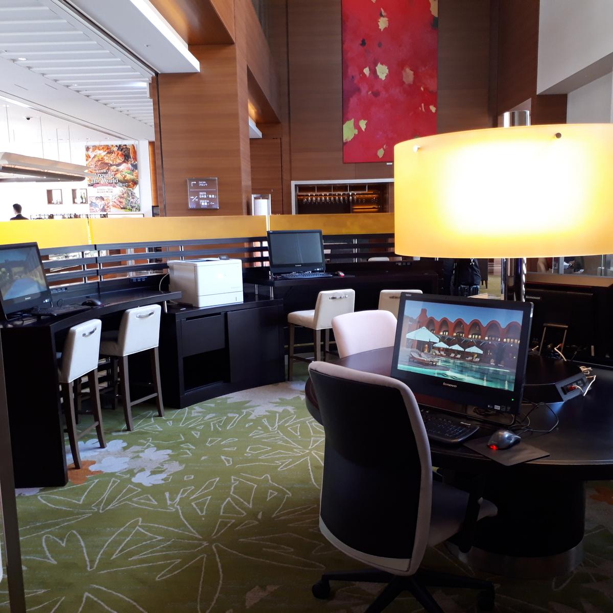 シェラトングランドホテル広島 ロビー階