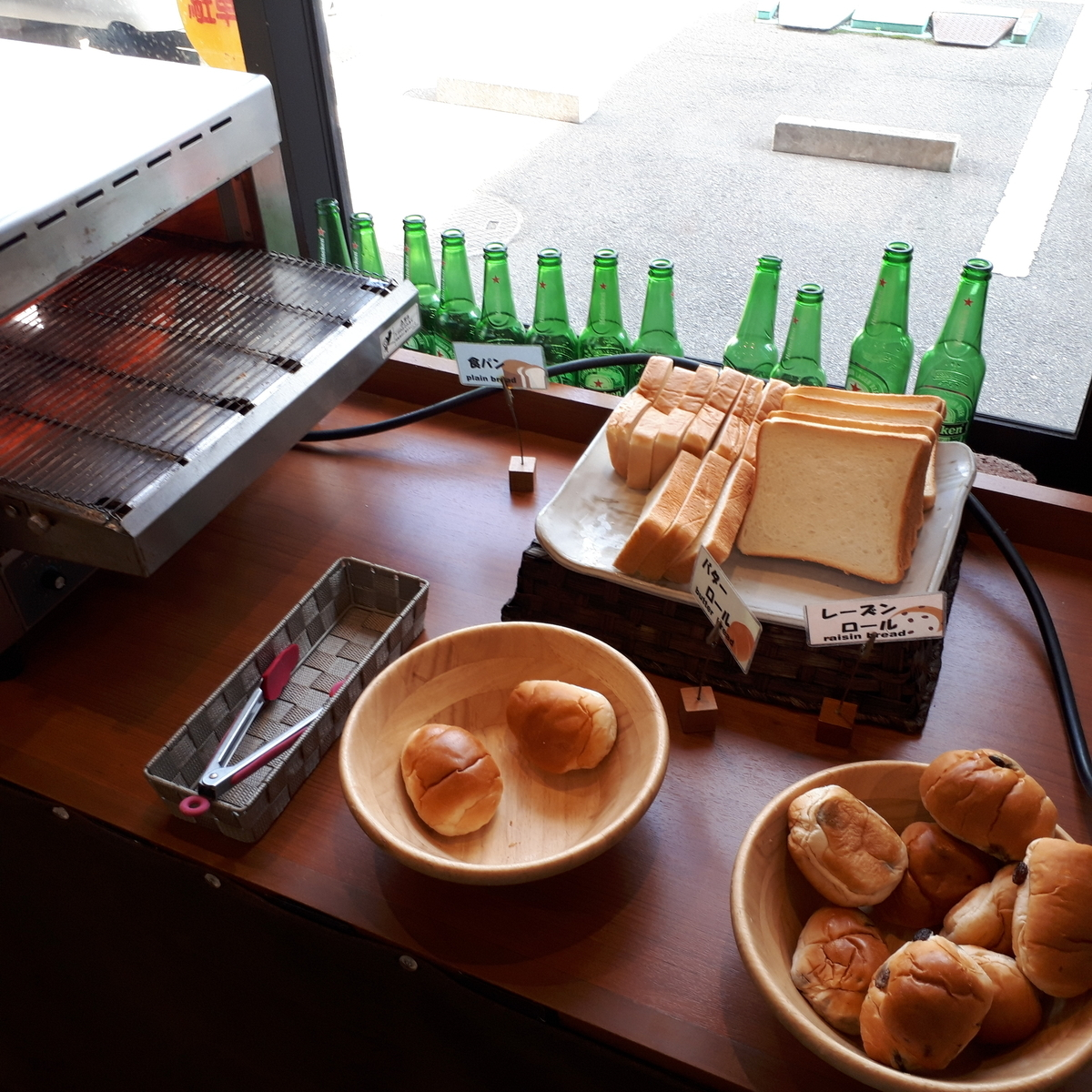 西鉄イン小倉 朝食 パン