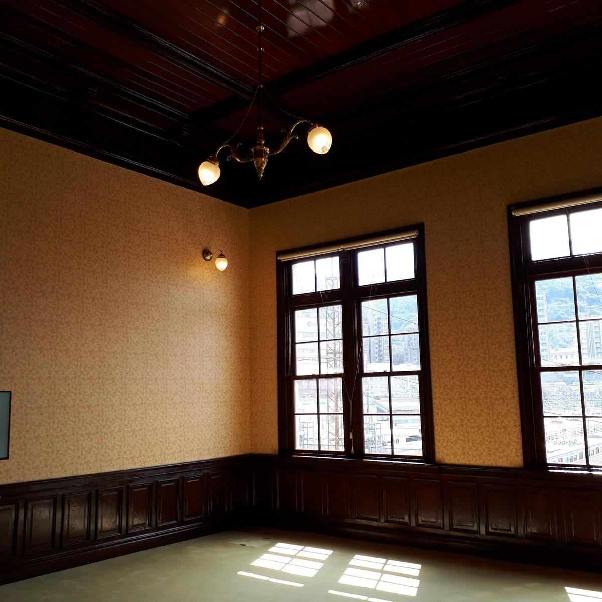 門司港駅 旧次室