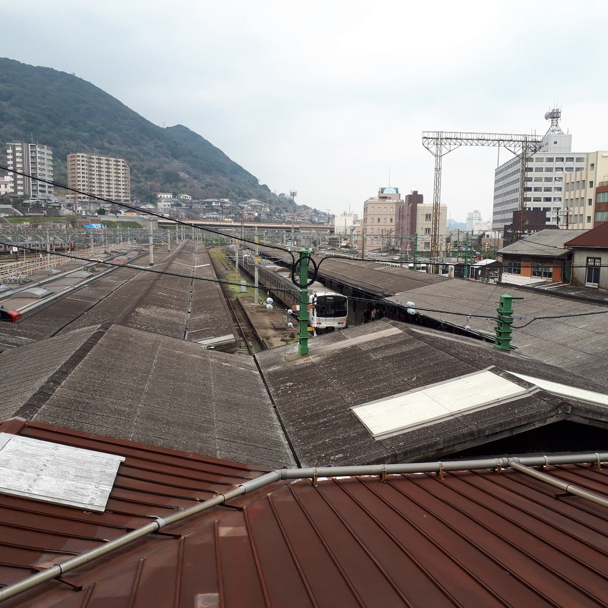 門司港駅 旧次室からの眺め