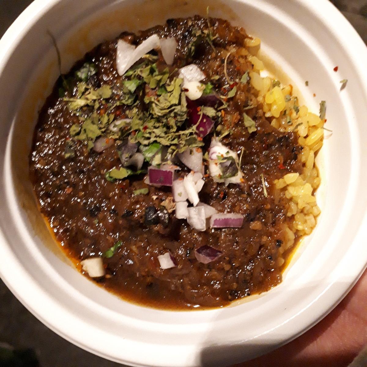 アアベルカレー 鹿モモ肉の花椒カレー