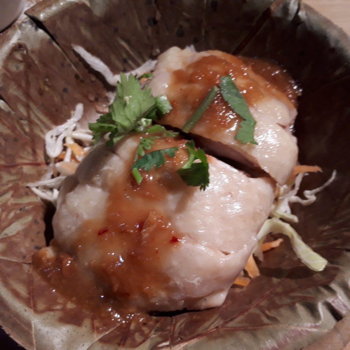 Asian kitchen cafe 百福 カオマンガイ(タイ式茹で鶏)