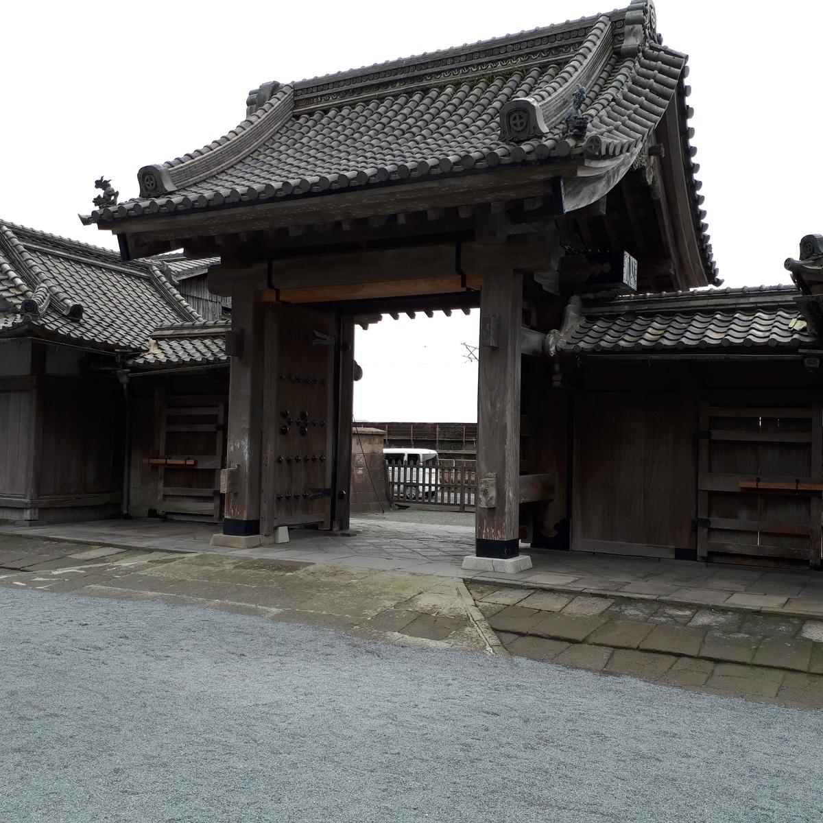 仙厳園 正門