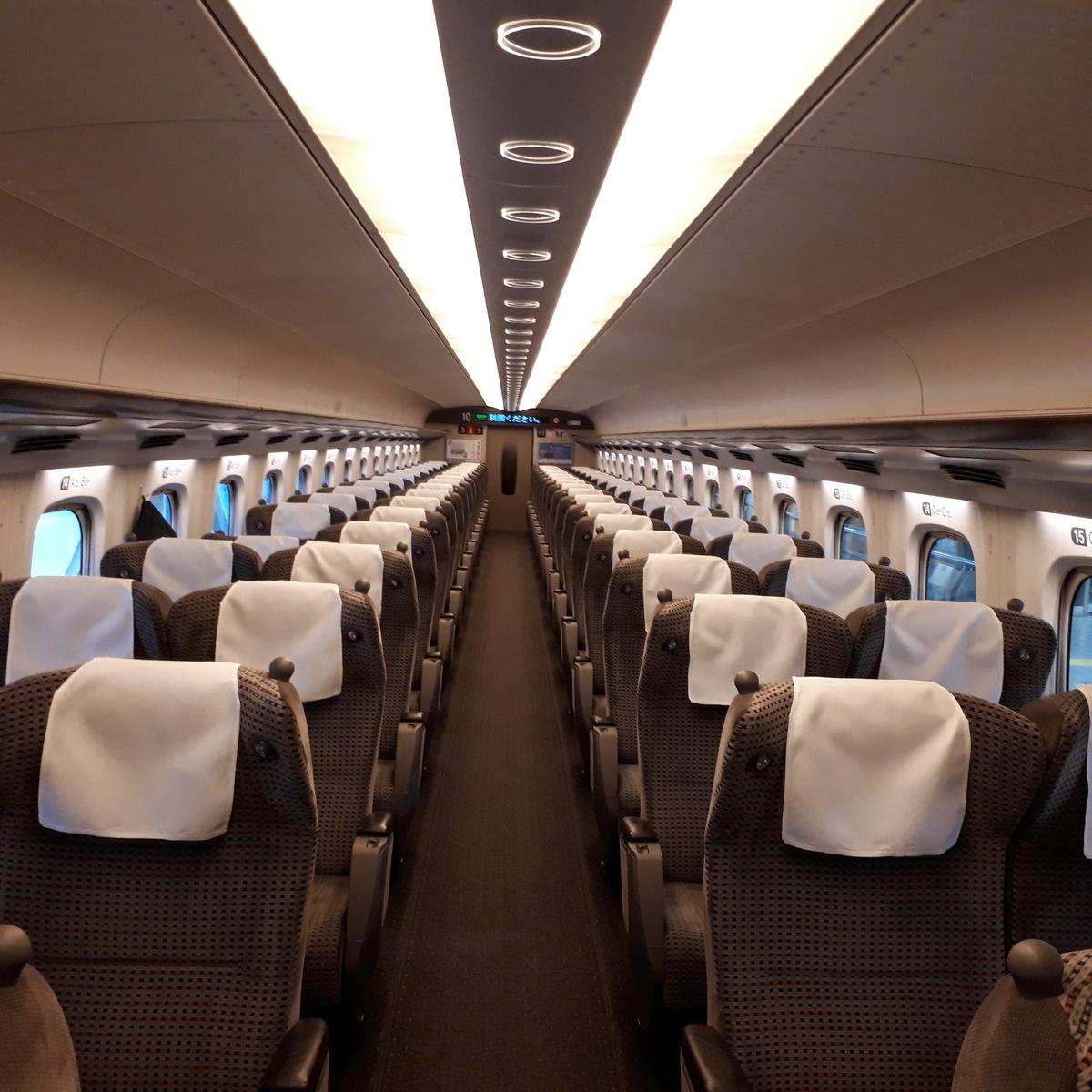 新幹線N700系 のぞみ グリーン車