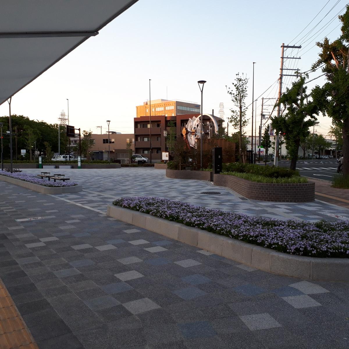 JR南吹田駅 駅前広場