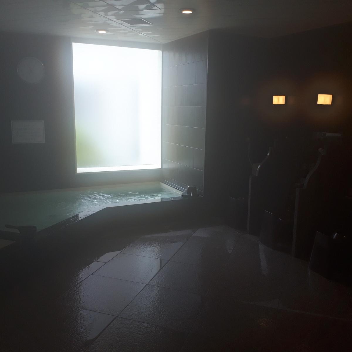 リッツカールトン大阪 フィットネス スパ 浴場