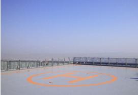 ハルカス300展望台 ヘリポートツアー