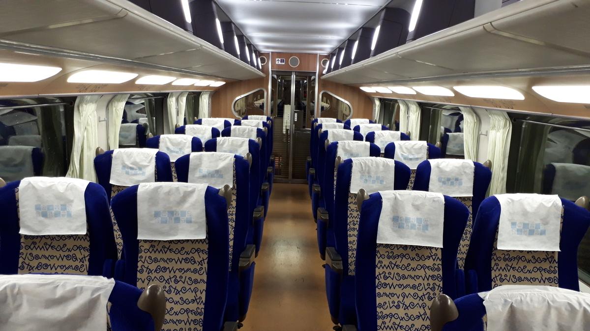 近鉄 ビスタカー 30000系 2階建て車両 階上席 2階席