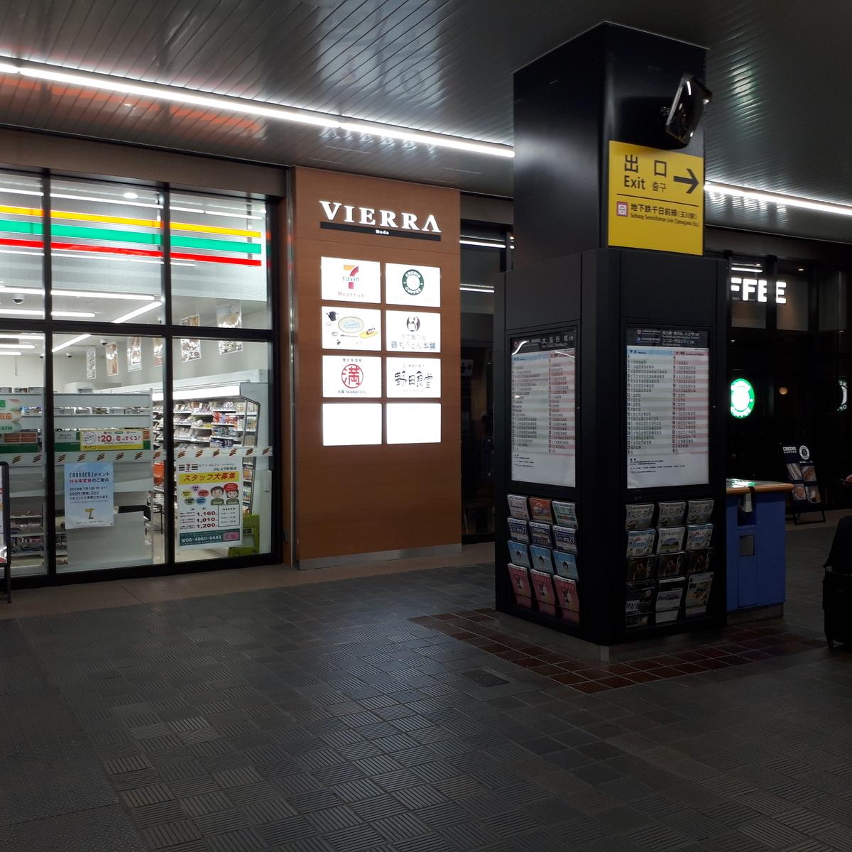 JR野田駅 改札前