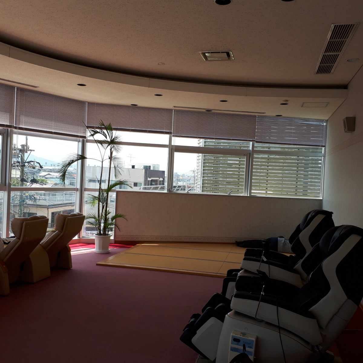 指宿 砂蒸し会館 砂楽 3階 休憩所