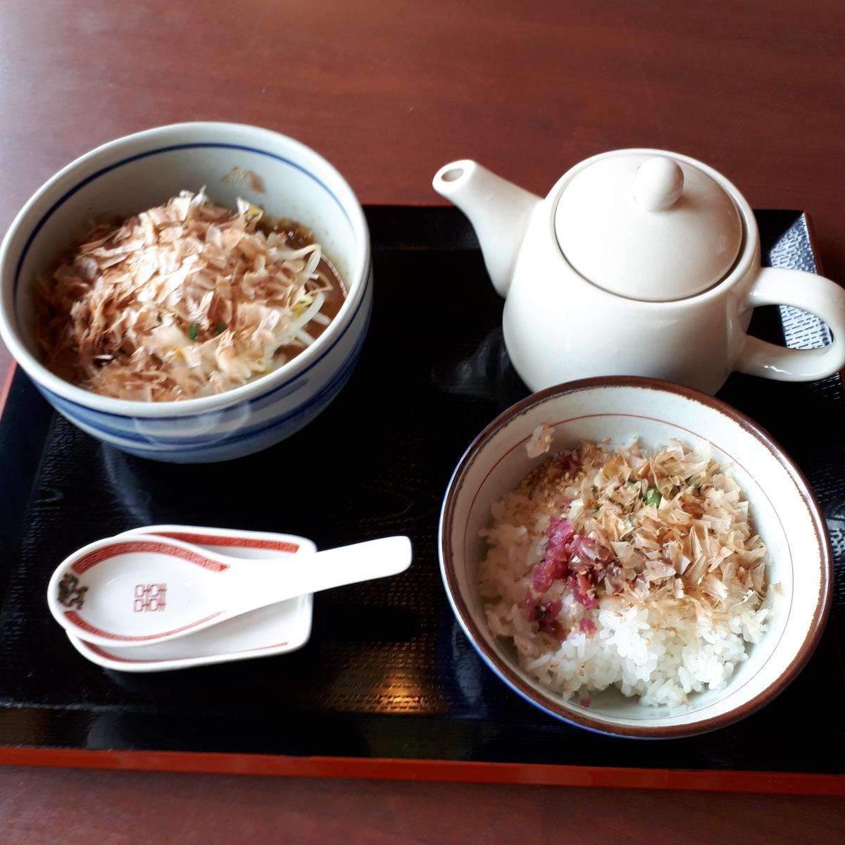 指宿 紅龍 勝武士ラーメン 茶ぶしメシセット