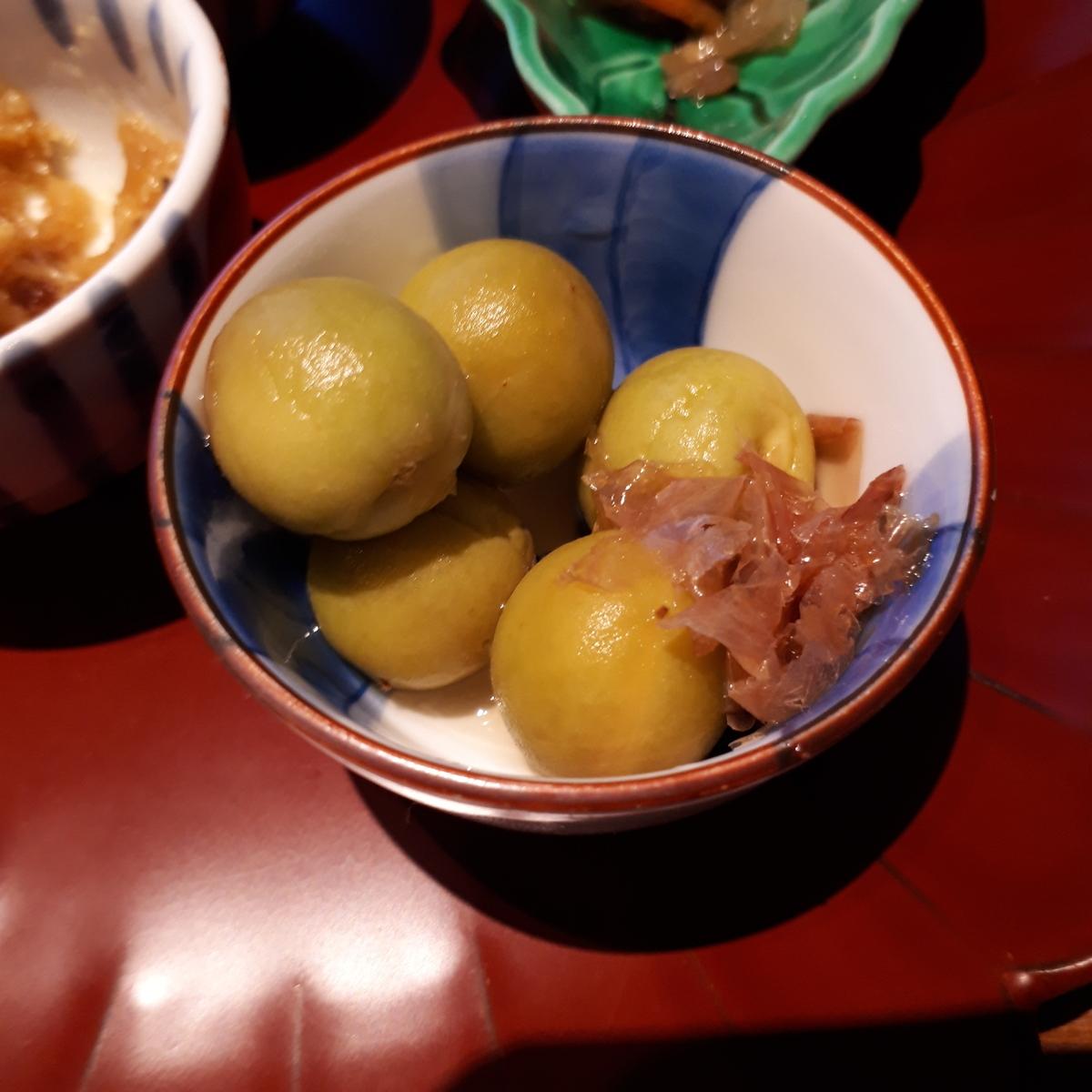 シェラトングランデオーシャンリゾート 米九 カリカリ醤油小梅