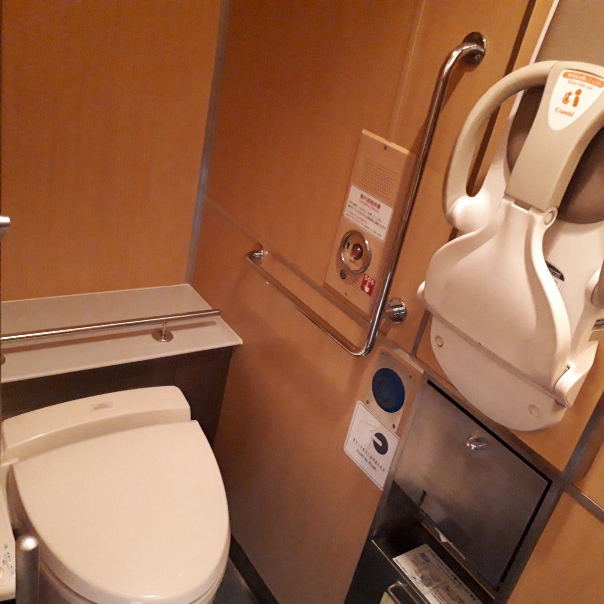 近鉄 23000系 伊勢志摩ライナー お手洗い