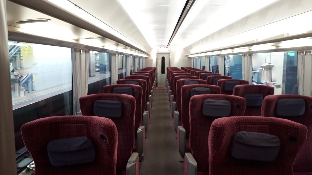 近鉄 アーバンライナーnext 21020系 デラックスカー