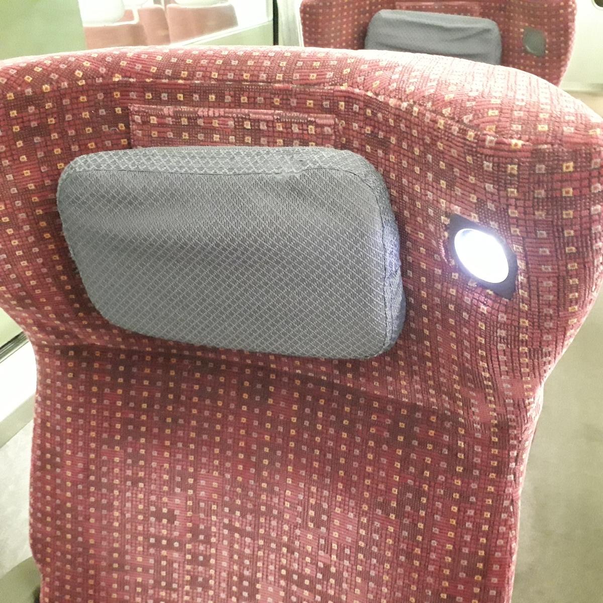 近鉄 アーバンライナーnext 21020系 デラックスカー 1人席 読書灯