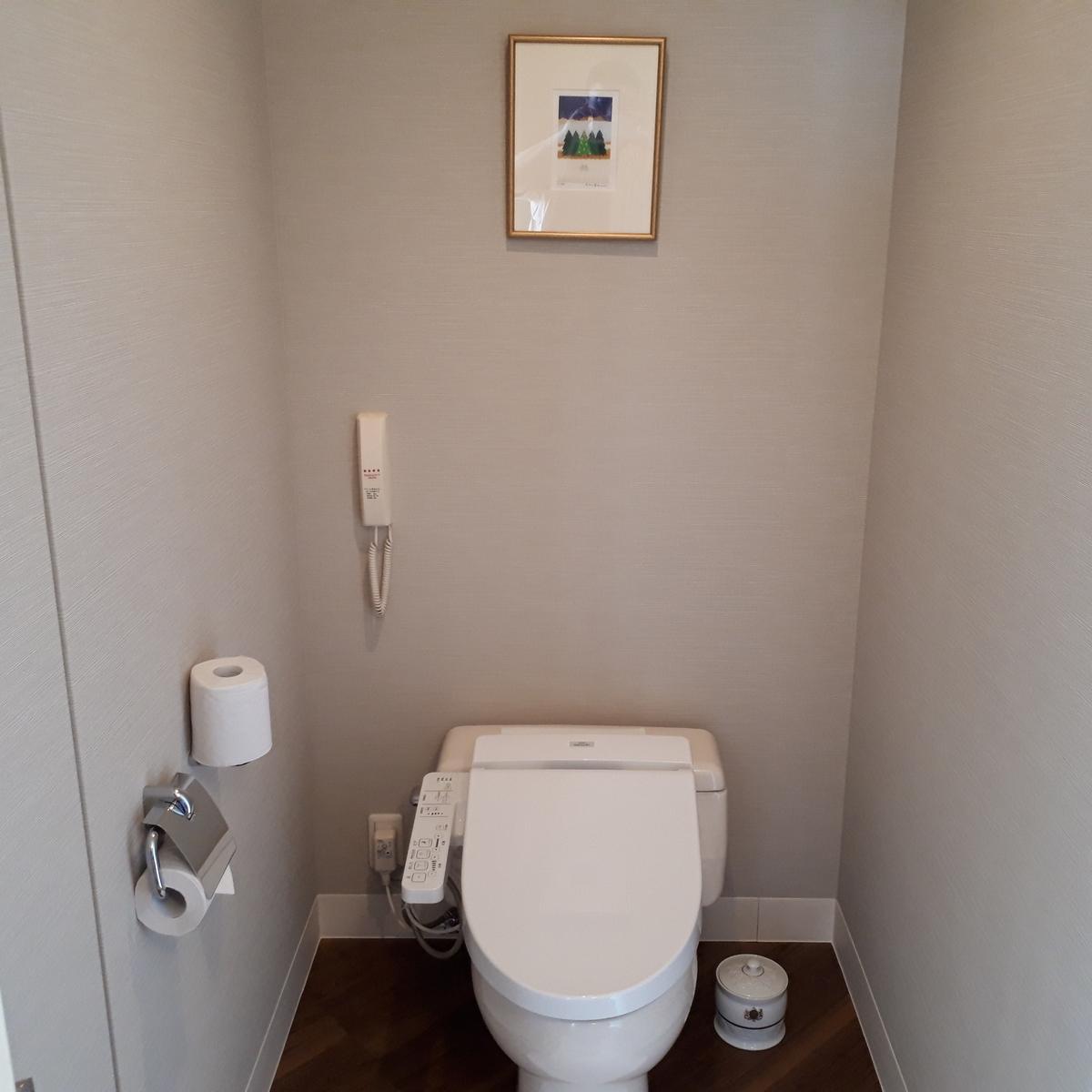 シェラトングランデオーシャンリゾート コーナースイート お手洗い