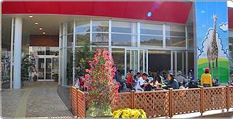 宮崎市フェニックス自然動物園 レストラン、ショップ