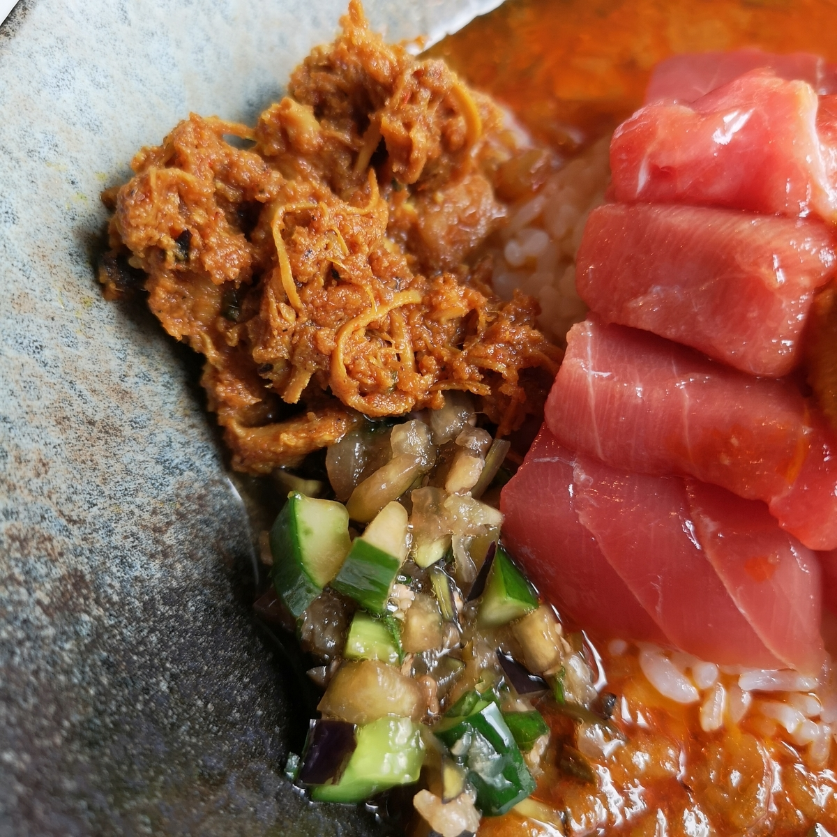 wacca 2019年8月31日 冷製ニボ醤油な贅沢海鮮スープカレー