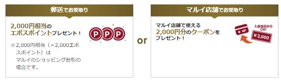 エポスカード 入会キャンペーン