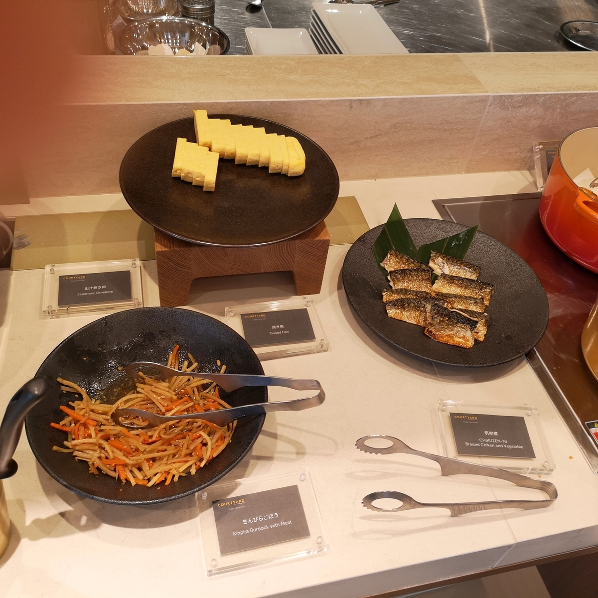 コートヤード・バイ・マリオット大阪本町 STITCH 朝食ブッフェ