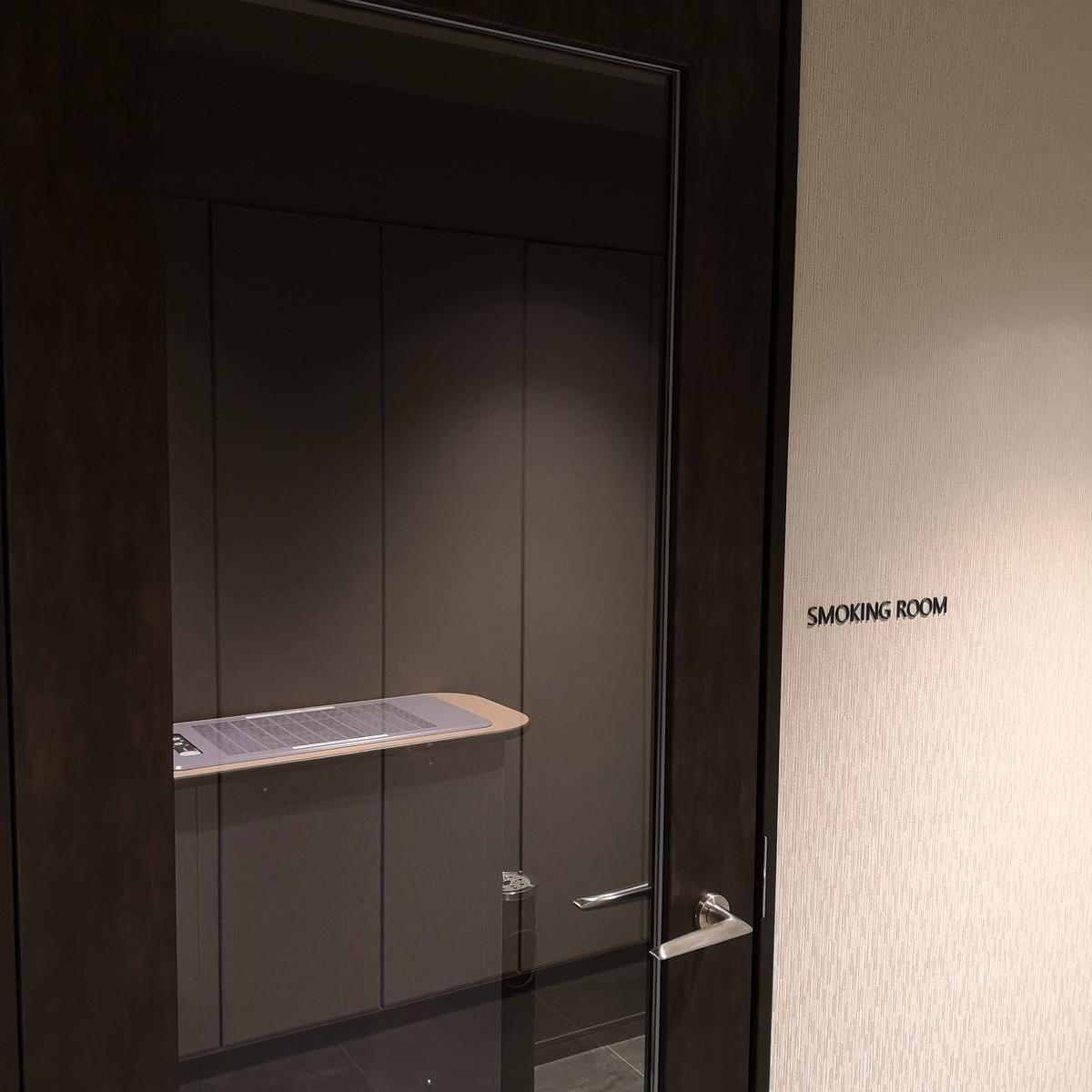 コートヤード・バイ・マリオット大阪本町 喫煙室
